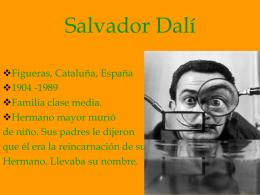 La influencia de Dalí