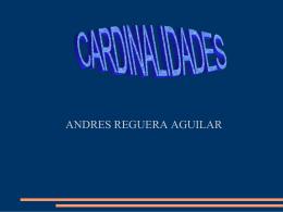 CARDINALIDADES