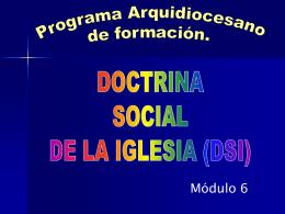 Unidad 2 -DSI - Arquidiócesis de San José