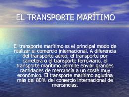 el transporte marítimo juan pérez ventura · 14 dic, 2012