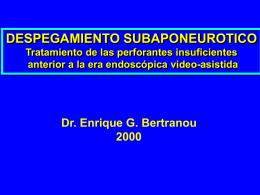 Despeg. subapo. Bs.As.2000. - bienvenidos | dr enrique g. bertranou