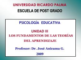 Unidad III - PSIC EDUCATIVA 2009