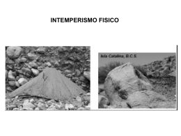 INTEMPERISMO FISICO
