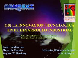 Sin título de diapositiva - Consejo Nacional de Ciencia y Tecnología