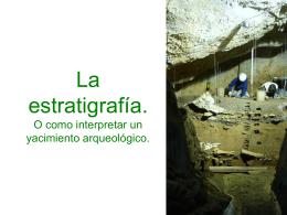 estratigrafía - Barrika Arqueología