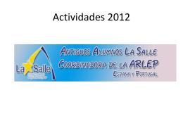 INFORME DE ACTIVIDADES  - Asociación Antiguos Alumnos