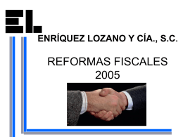 reforma fiscal.