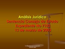 Análisis del Caso F.IMM - CNO-Gas