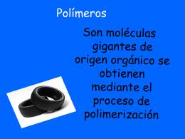 Polímeros - Techno-LaSerna