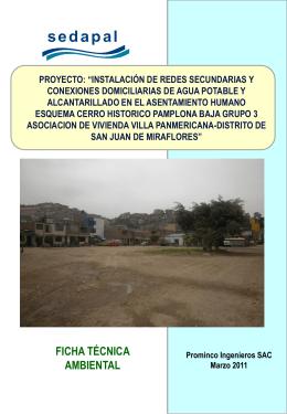 Caratula y Separadores Villa Panamericana(Marzo 2011).