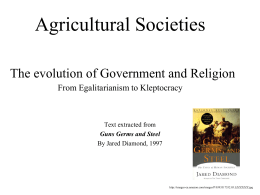 Agricultural Societies - Iowa State University