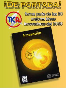 TICA forma parte de las 20 mejores ideas innovadoras del 2005