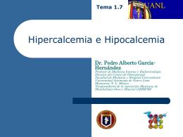 07 Hiper e Hipocalcemia