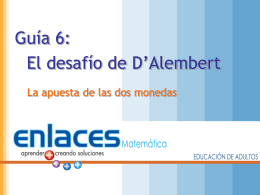 El desafío de D`Alambert