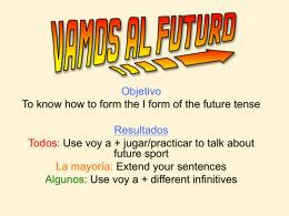 The future tense - Light Bulb Languages