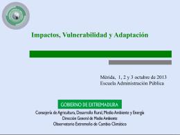 Impactos, vulnerabilidad y adaptación. Definitivo