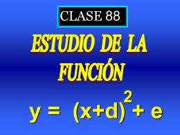 Clase 88: Ejercicios de Función Cuadrática