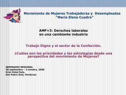 Tematica Laboral - Red de Solidaridad de la Maquila