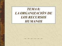 TEMA 8 - organizaciondecentros