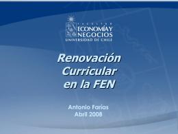 Presentación Antonio Farías