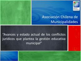 Educación-Armando - Asociación Chilena de Municipalidades