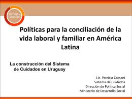 Políticas para la conciliación de la vida laboral y