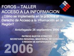 Exposición de Patricio Bustos Streeter