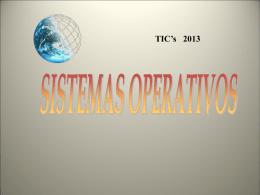 02 - Introduccion Sistemas Operativos