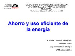 Ahorro y uso eficiente de energía en edificios de oficinas