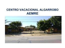 CENTRO VACACIONES ALGARROBO Asociación
