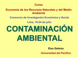 contaminacion - Biblioteca Central