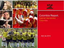 ASME 2014 - Colombia Report