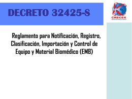 DECRETO 32425-S