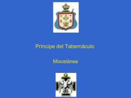24° Grado – Principe del Tabernaculo