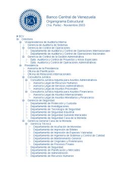 Sin título de diapositiva - Banco Central de Venezuela