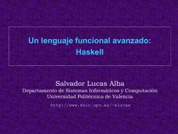 Concepto de función - Universidad Politécnica de Valencia