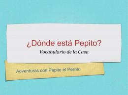 ¿Dónde está Pepito?