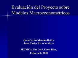Evaluación del Proyecto.