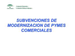 Subvenciones - Asociación Empresarial Marteña