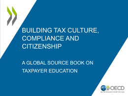 2. Global Source Book on Taxpayer Education