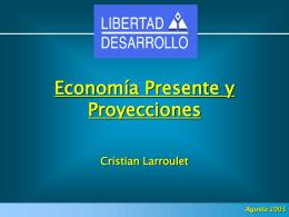 Ver exposición Sr. Cristián Larroulet