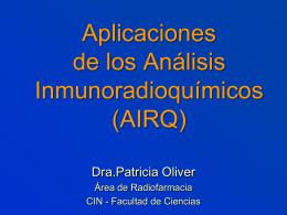 Aplicaciones de los AIRQ