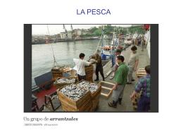 la pesca - vocabulario