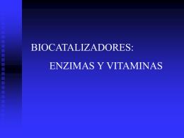 enzimas y vitaminas - ies hoces del duratón