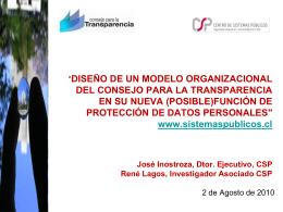 Diapositiva 1 - Centro de Sistemas Públicos