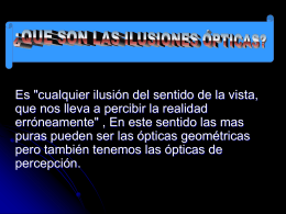 Ilusion optica - WordPress.com
