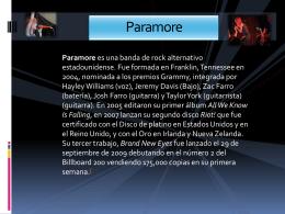 Paramore - mayrakrellac