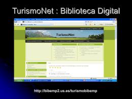 TurismoNet : Biblioteca Digital