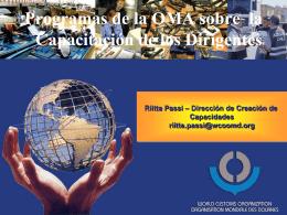 Programas de la OMA sobre Capacitación de los Dirigentes