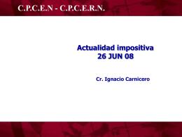 Ciclo Actualidad Impositiva